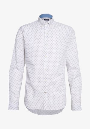 POPLIN PRINT - Shirt - bright white