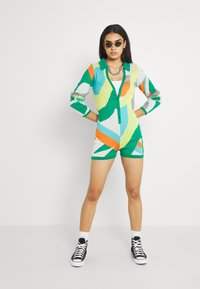 Jaded London - LONG SLEEVE ROMPER - Jumpsuit - multi coloured - 1