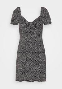 KNOT FRONT TEA DRESS ALI - Day dress - black