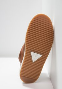 HUB - RIDGE - Ankle boot - cognac/offwhite - 6