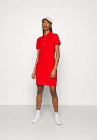 Lacoste - MINI EXTENSIBLE - Day dress - groseillier - 1
