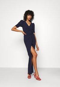 Sista Glam - Długa sukienka - navy - 0