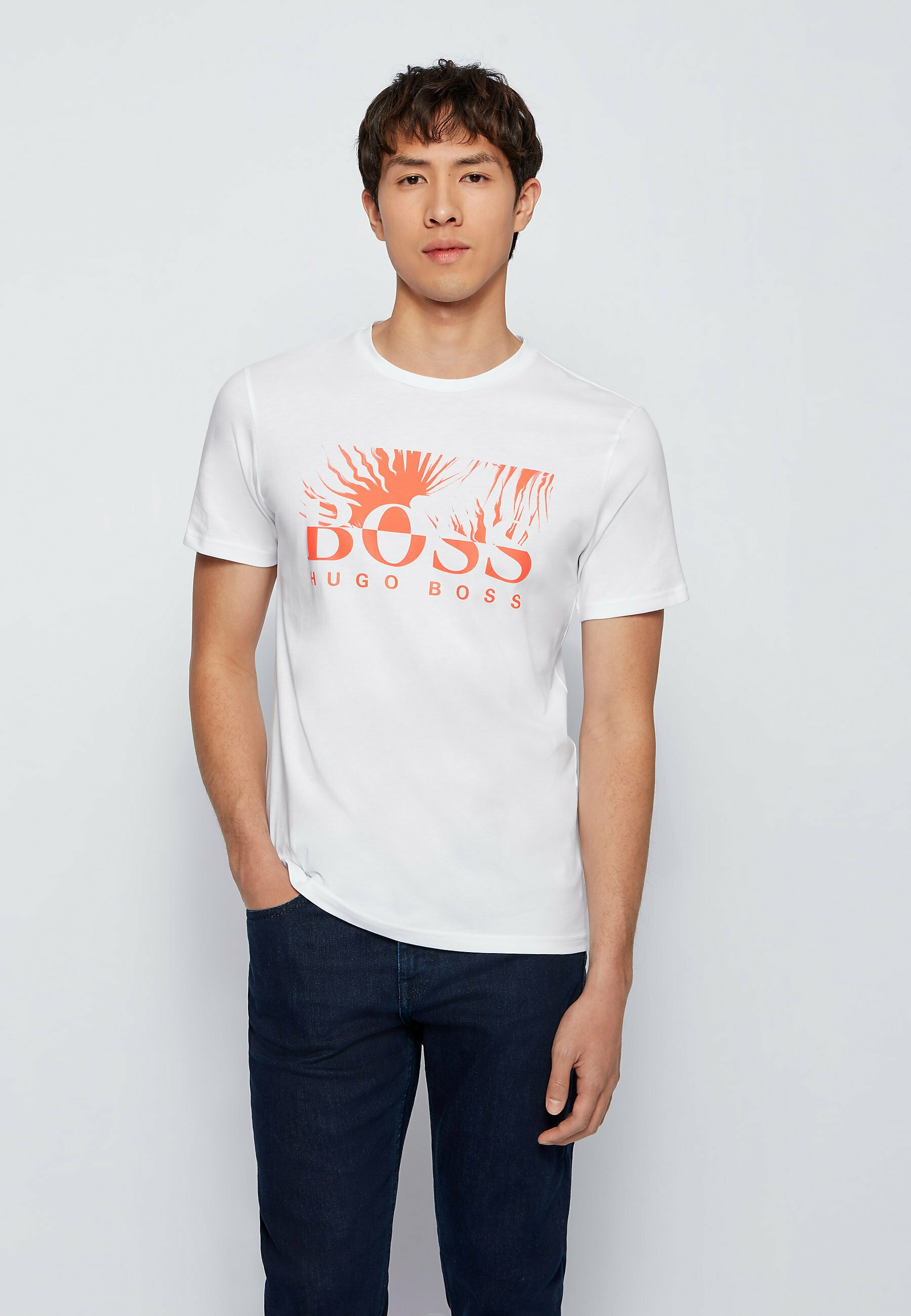 Men TEALLY - Print T-shirt