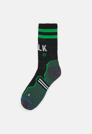 HULK CREW - Socks - black