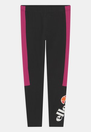ESMIO - Leggings - Trousers - black/pink