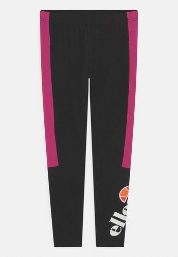 ESMIO - Leggings - black/pink
