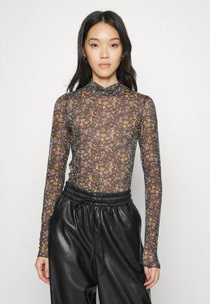 FILANA - Bluzka z długim rękawem - black