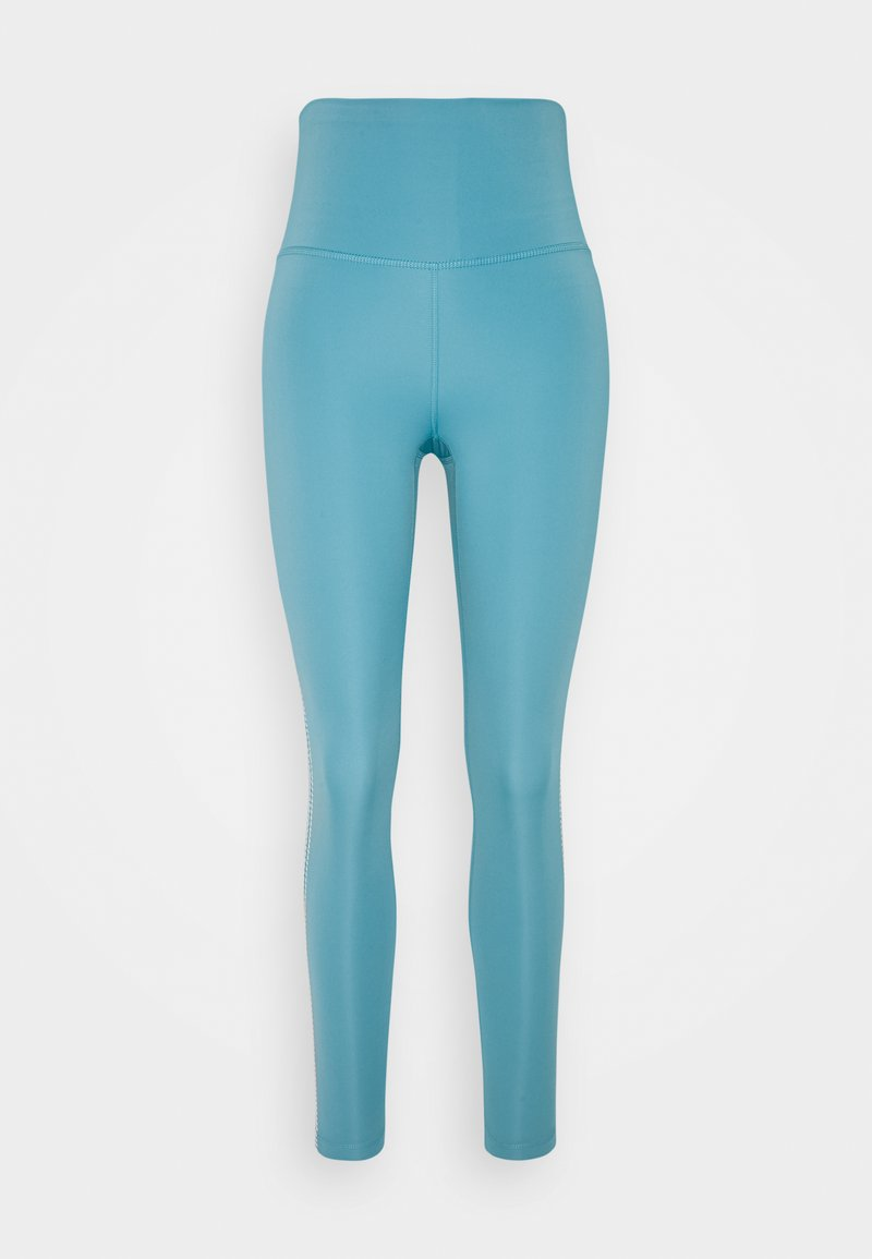 Nike Performance - CROCHET 7/8  - Tights - cerulean/sail/light fusion red/light armory blue