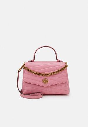 KIRA CHEVRON TOP HANDLE SATCHEL - Handtasche - pink city