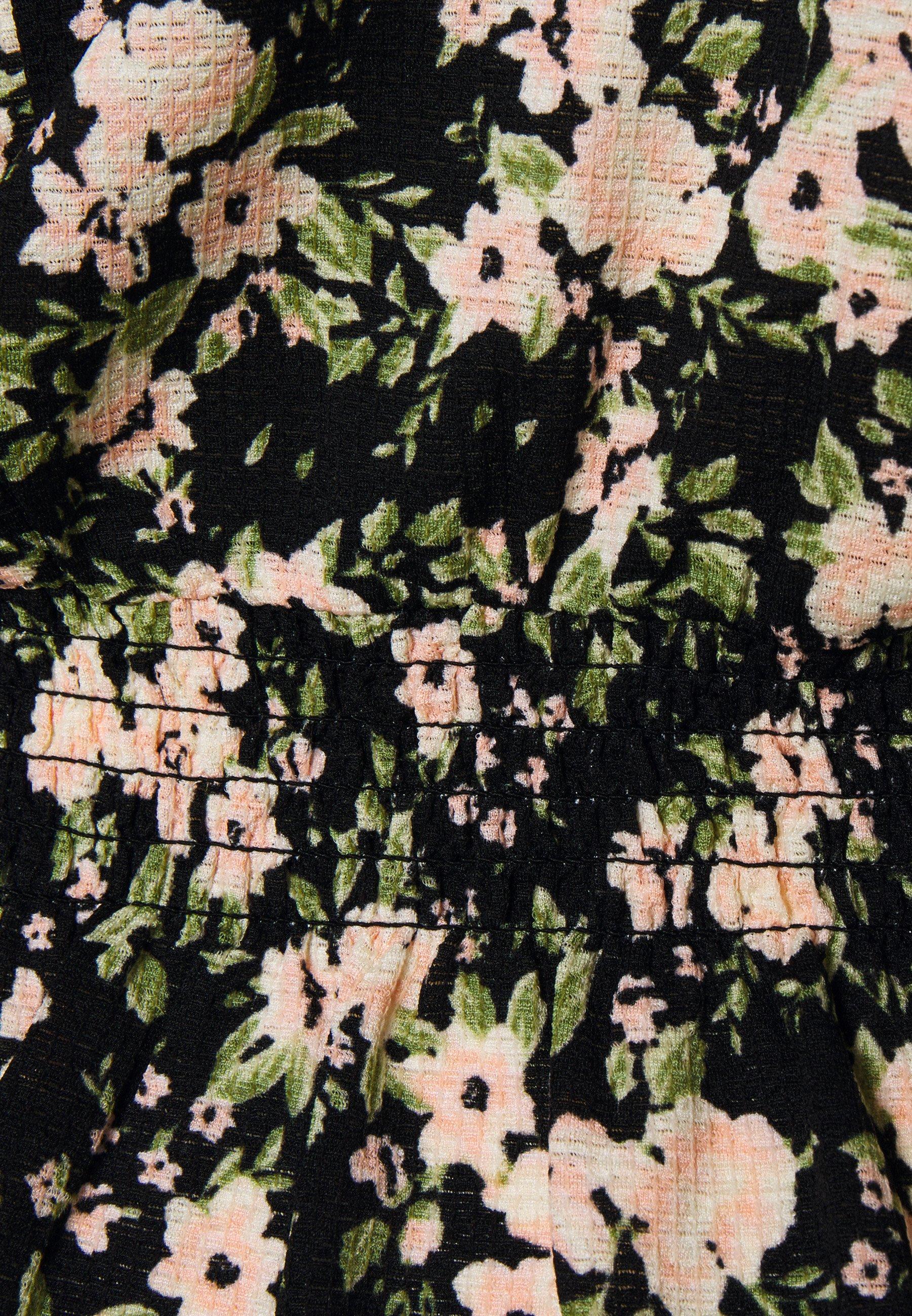 Women DITSY RUFFLE FRONT FAUCHETTE FASHION - Long sleeved top