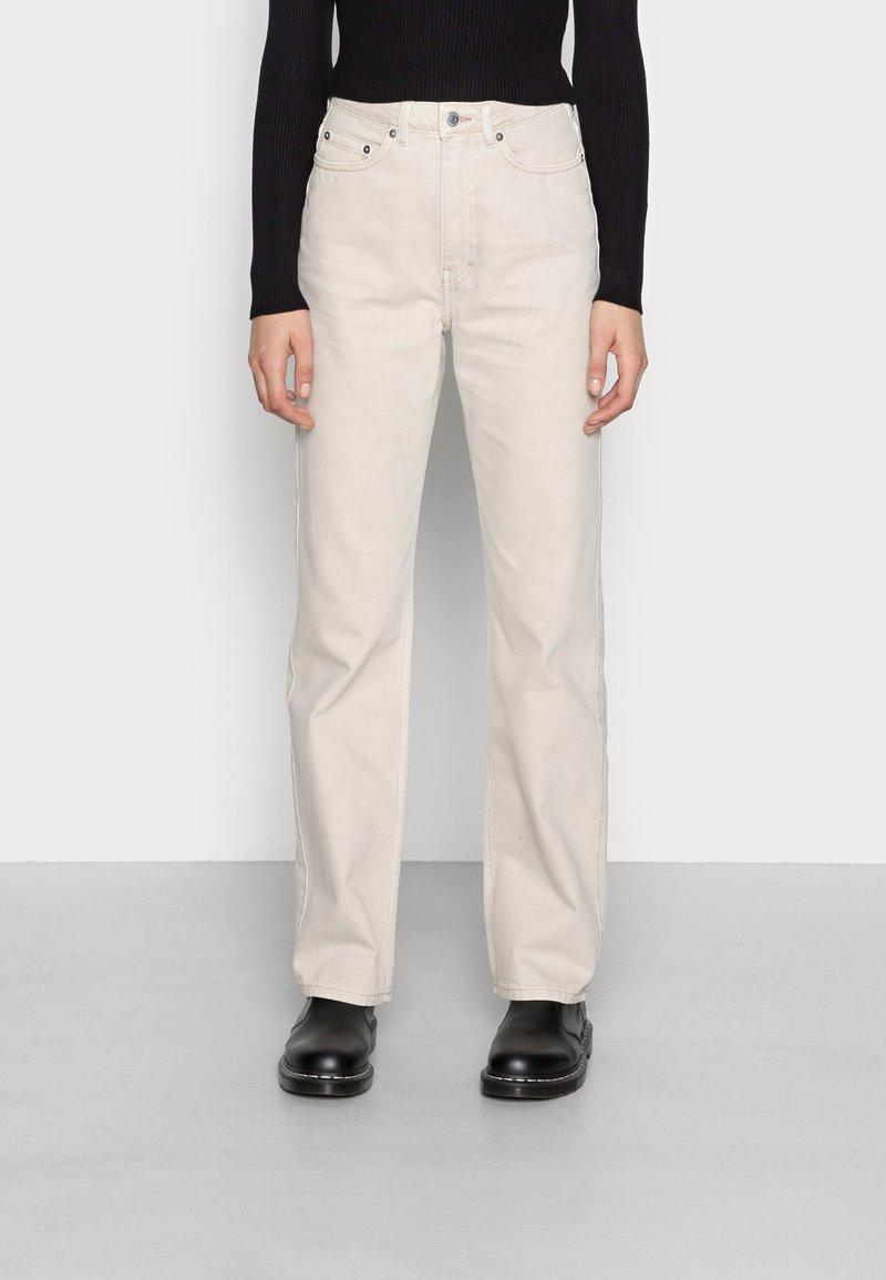 Weekday - ROWE - Jeans straight leg - wheat