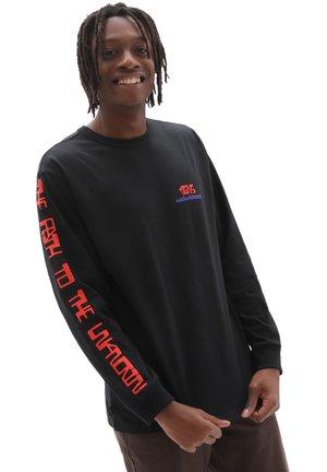 MN OFF THE WALL GALLERY RUBEN M LS - Sweatshirt - black