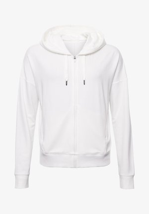 veste en sweat zippée - riff white