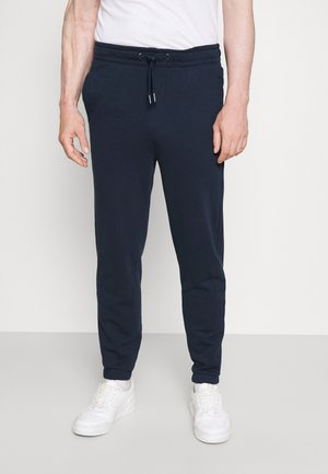 JOGGER TERRY - Tracksuit bottoms - dark blue