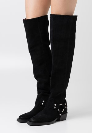 NO SCENE - Over-the-knee boots - black