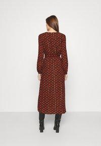 Fabienne Chapot - ISABELLA ISA DRESS - Kjole - black/rust - 2