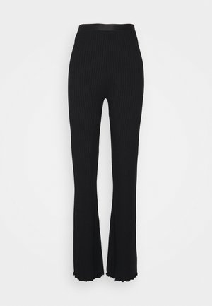 SOLID LONNIE - Trousers - black