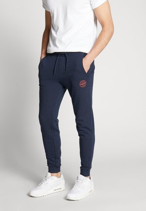 JJIGORDON JJSHARK PANTS  - Tracksuit bottoms - navy blazer