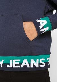 Tommy Jeans - BRANDED HEM HOOD - Sweat à capuche - twilight navy - 5