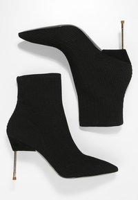 Kurt Geiger London - BARBICAN - High heeled ankle boots - black - 3