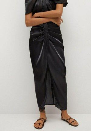 Maxi sukně - svart