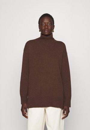 MANNY - Jumper - dark brown