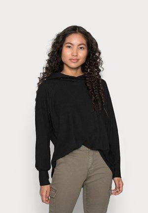 ONLNELLA HOOD - Jersey con capucha - black