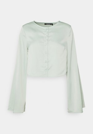 BUTTON THROUGH BLOUSE - Blouse - mint