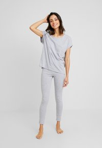 Short Stories - LEGGINGS - Pyjamabroek - grey melange - 1