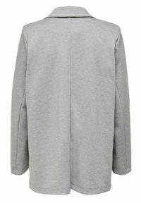 ONLY - KLASSISCH - Short coat - light grey melange - 4