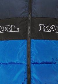 Karl Kani - BLOCK PUFFER JACKET - Veste d'hiver - blue - 2
