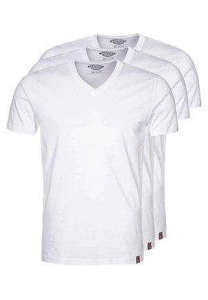 3 PACK - T-shirt basique - white