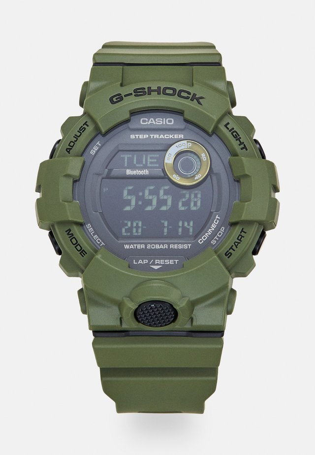 Orologio digitale - green
