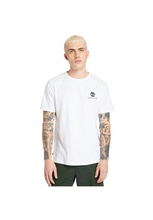 ARCHIVE BACK WWES - Basic T-shirt - white