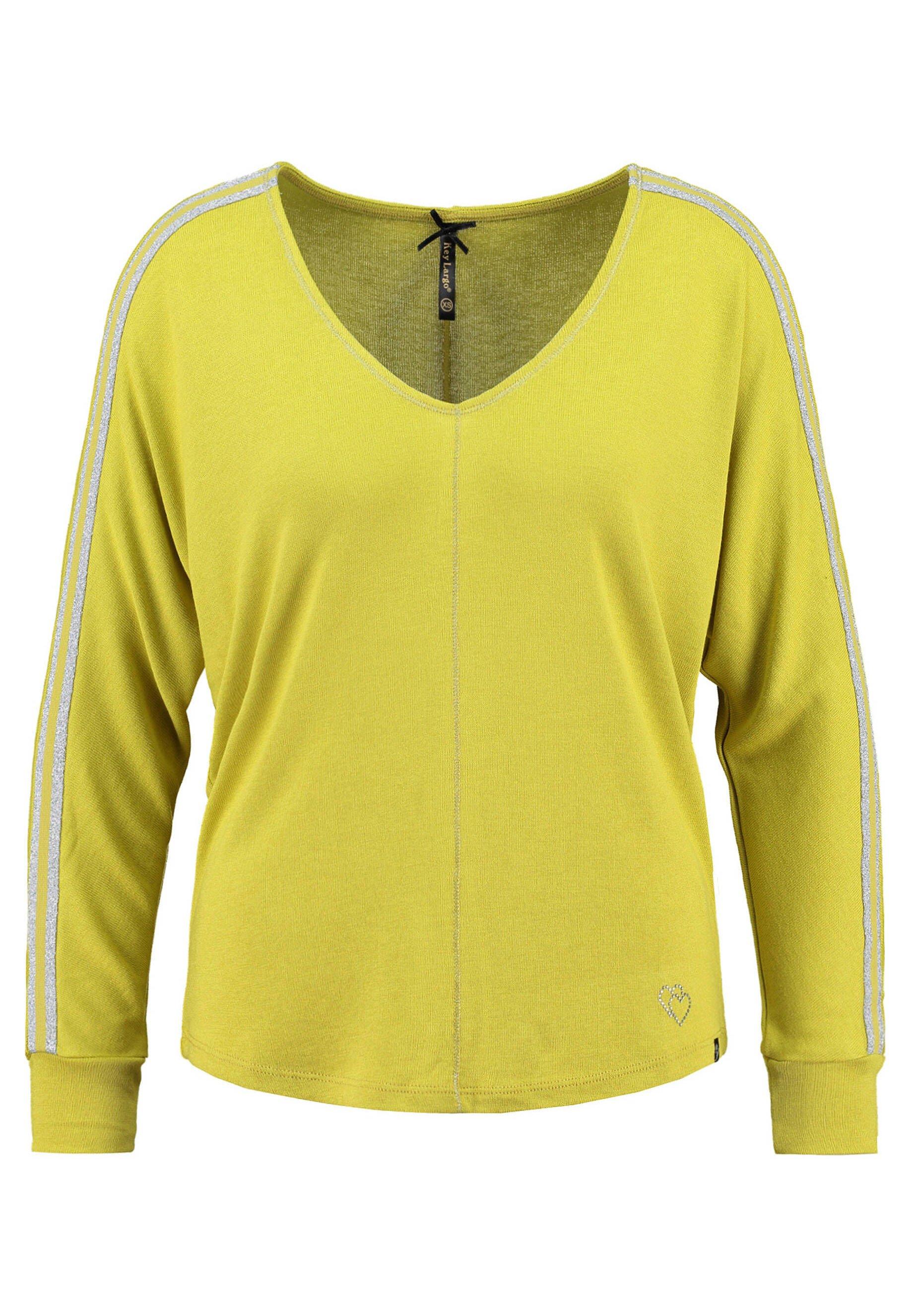 Damen Langarmshirt - gelb