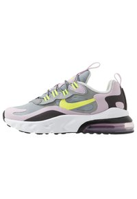 Nike Sportswear - AIR MAX 270 - Sneakersy niskie - particle grey/lemon/iced lilac/off noir - 0