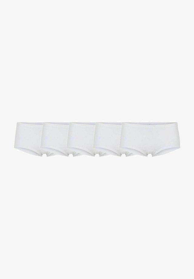 5-PACK - Onderbroeken - white