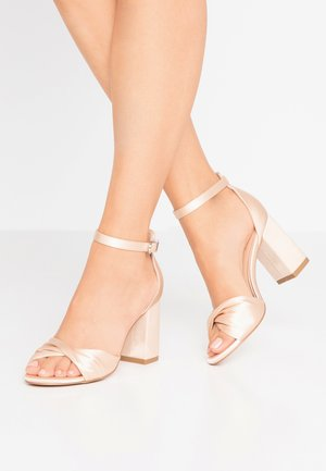 DEB - High heeled sandals - oyster