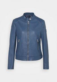Belstaff - NEW MOLLISON JACKET - Veste en cuir - racing blue - 7
