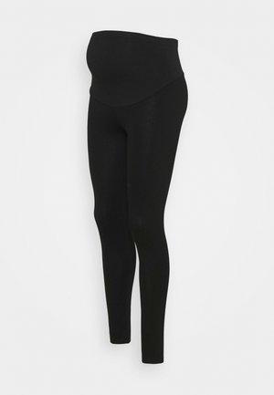 PONTE OVERBUMP - Legging - black