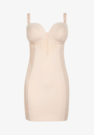 FIRM CONTROL CUPPED LACE SLIP - Shapewear - nude