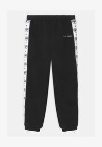 CHIARA FERRAGNI - TAPE - Teplákové kalhoty - black - 0