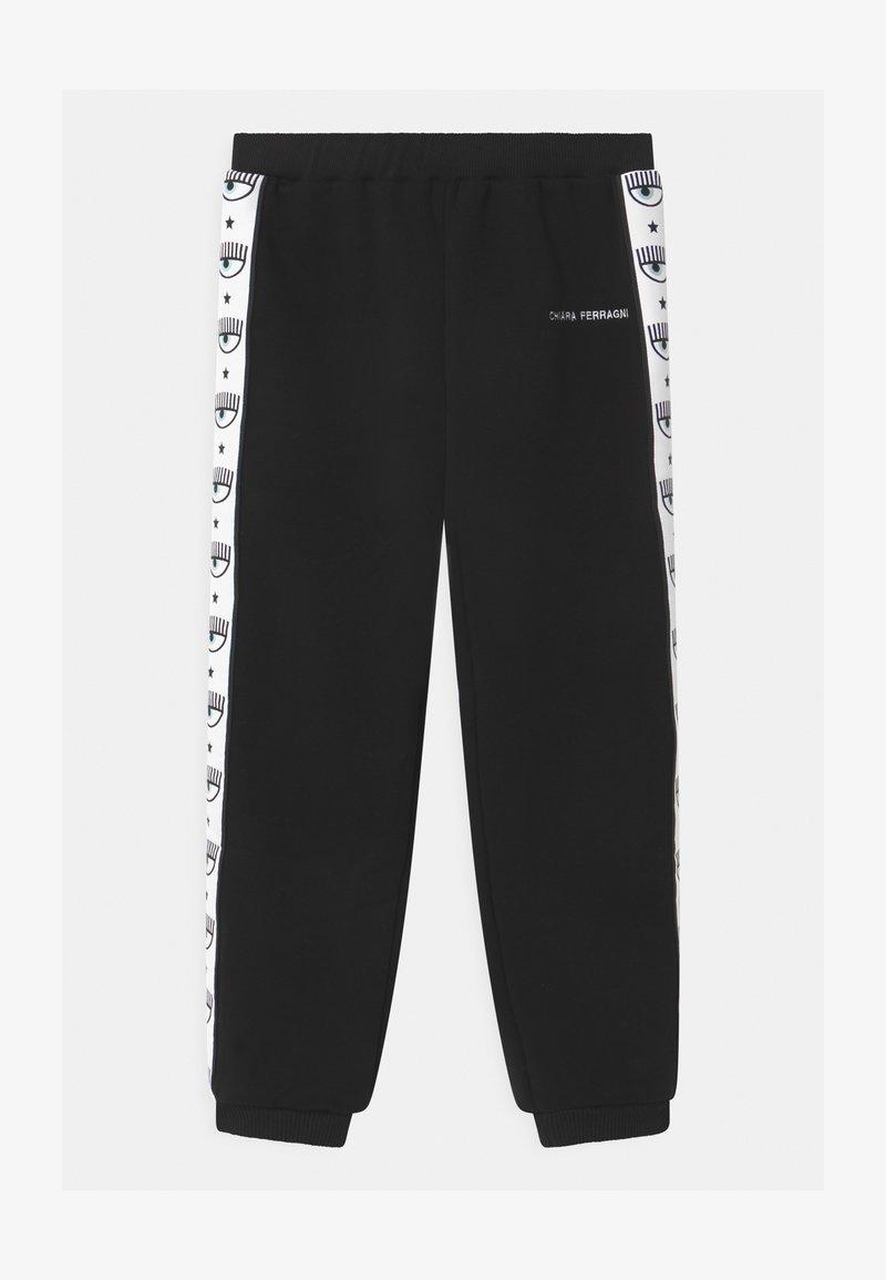 CHIARA FERRAGNI - TAPE - Teplákové kalhoty - black