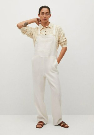 Dungarees - off white