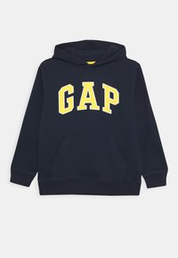 GAP - BOY CAMPUS LOGO HOOD - Jersey con capucha - blue galaxy - 0