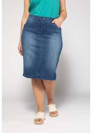 Denim skirt - blue denim