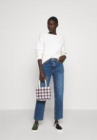 Topshop Tall - CLEAN - Straight leg jeans - blue denim - 1