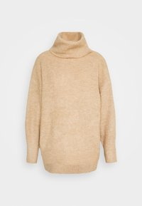 New Look Petite - FASH SLOUCHY ROLL NECK - Jumper - camel - 5