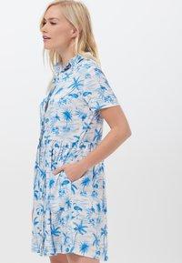 Sugarhill Brighton - KEELEY HAWAII FLAMINGO - Shirt dress - white - 2