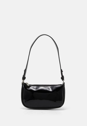 PATENT MONI BAG - Handbag - black